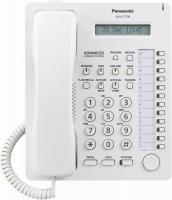 Системный телефон Panasonic KX-AT7730RU белый