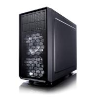 Корпус Fractal Design FOCUS G MINI Window черный без БП mATX 6x120mm 1x140mm 1xUSB2.0 1xUSB3.0 audio bott PSU