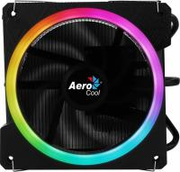 Устройство охлаждения(кулер) Aerocool Cylon 3 Soc-AM2+/AM3+/AM4/1150/1151/1155/ 4-pin 13-24dB Al+Cu 125W 480gr LED Ret